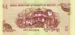 BHUTAN P. 28a 5 N 2006 UNC (10 Billets) - Bhután
