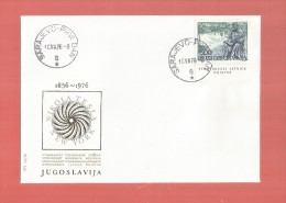 YUGOSLAVIA - NIKOLA TESLA..ANVERSARY- FDC-1976 - 1945-1992 République Fédérative Populaire De Yougoslavie
