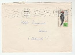 1965 CZECHOSLOVAKIA COVER  Stamps WOODPECKER  Bird Birds - Czechoslovakia