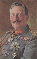 1914 D. Reich, MILITARIA, BESSERE Karte Kaiser Wilhelm II. MK