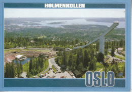 OSLO -  Holmenkollen. Summer Arrangements At Holmenkollen - Norvège