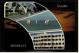 Kenia  -  Mombasa  -  Mehrbild-Ansichtskarte Ca. 1985    (4211) - Kenia