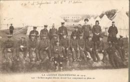 Soldats Anglais Blessésç Cachet Militaria ?? CPD 12-origine Saint Laurent Le Vieil-1914 - Guerre 1914-18