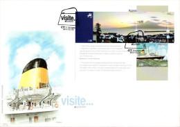 Portugal Azores / Europa 2012 / FDC - Europa-CEPT