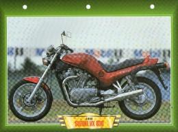 1993 SUZUKI VX 800   /   FICHE TECHNIQUE MOTO FORMAT A4  DÉTAILS CARACTÉRISTIQUES TBE - Motor Bikes