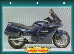 1998 HONDA ST 1100 PAN EUROPEAN  /   FICHE TECHNIQUE MOTO FORMAT A4  DÉTAILS CARACTÉRISTIQUES TBE - Motor Bikes