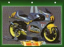 1999 YAMAHA YZR 250   /   FICHE TECHNIQUE MOTO FORMAT A4  DÉTAILS CARACTÉRISTIQUES TBE - Motor Bikes