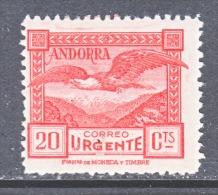 SPANISH ANDORRA  E 3  **   PERF 14 - Spanish Andorra