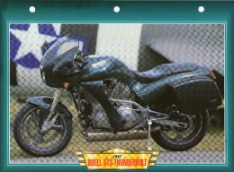 1997 BUELL ST3 THUNDERBOLT  /   FICHE TECHNIQUE MOTO FORMAT A4  DÉTAILS CARACTÉRISTIQUES TBE - Motor Bikes