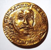 MEDAILLE GUILLAUME D'ORANGE LE TACITURNE. RARE. SIGNEE. MONNAIE DE PARIS. WILLEM VAN ORANJE. WILLIAM I PRINCE OF ORANGE. - Tokens & Medals