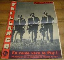 VAILLANCE - N� 33 - 16  AOUT 1942 - EN ROUTE VERS LE PUY - JEUNESSE DE FRANCE