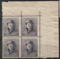 169 A Bloc 4  **  Cdf  30 - 1919-1920 Roi Casqué