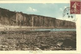 76 Seine Maritime PUYS Les Roches Voyagée En 1931   En Couleur - Autres Communes