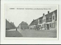 Kuurne - Cuerne  *  Kortrijkstraat - Gemeentehuis, Na De Beschieting Oktober 1918 - Kuurne