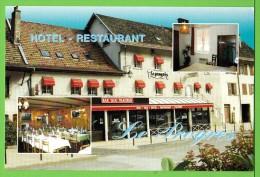 "HOTEL RESTAURANT "" LE PROGRES "" / ORNANS / DOUBS .../ Carte Vierge - Hotels & Restaurants"