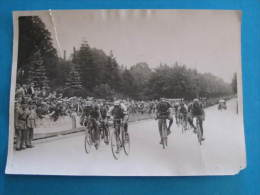 Photo  Meurisse -  ARRIVEE A METZ - ETAPE STRASBOURG-METZ  -    Format 18 X 13 Cm - Cycling