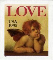 1995 USA Love Cherub (32c) Booklet Stamp #2949 Angel - Fairy Tales, Popular Stories & Legends