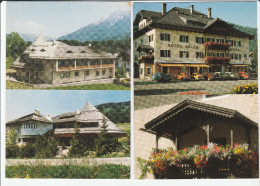 N.2 CARTOLINE NEDERDORF VILLABASSA BOLZANO HOTEL GOLDENER RESIDENCE ADLER F/G NON VIAGGIATE - Italia