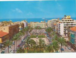 BEIRUT BEYROUTH , Martyrs Square , LIBAN LEBANON, Stamp Ports, , vintage old photo postcard