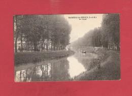 * CPA..dépt 77..MAREUIL Les MEAUX  :  Le Canal De Chalifert  :  Voir  2  Scans - France