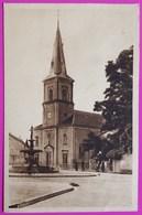Cpa Cirey Sur Vezouze Place De L' Eglise Carte Postale 54 Lorraine Proche Blamont Frémonville - Cirey Sur Vezouze