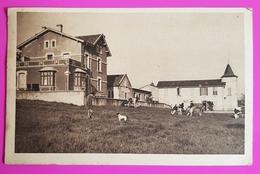 Cpa Flin Colonie De Vacances Les Tourelles Carte Postale 54 Lorraine Proche Azerailles Baccarat St Clement Lunéville - Cirey Sur Vezouze