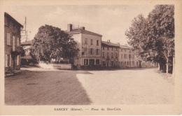 SARCEY  ( 69 )  PLACE  DU  BON  COIN - Frankrijk