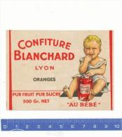 ETIQUETTE  - Confiture Blanchard, Lyon - Fruits & Vegetables