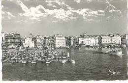 CPSM 13 - Marseille - Le Vieux Port - L'Entrée De La Canebière - Marseilles