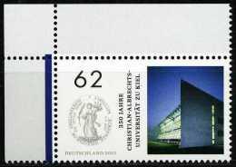 BRD - Michel  3138 Eckrand Links Oben - ** Postfrisch (A) - 62C 350 Jahre Christian-Albrechts Universität Zu Kiel - [7] Repubblica Federale