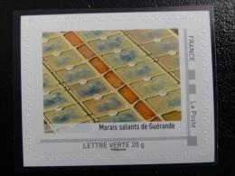 """Collector """"cotes De L´Atlantique Centre-ouest"""" - 2014 -marais Salants De Guérande - France"""