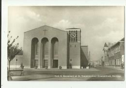 Berchem    *  Kerk H. Sacrament En St. Theresiaschool Groenenhoek - Antwerpen