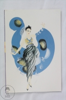 ERTE - A Dream ( Private Collection) - From Erte, 20 Beautiful Colour Postcards 1994 - Advertising