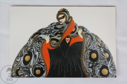 ERTE - Masquerade II (Private Collection) - From Erte, 20 Beautiful Colour Postcards 1994 - Advertising