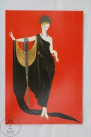 ERTE - Glamour (Private Collection) - From Erte, 20 Beautiful Colour Postcards 1994 - Advertising