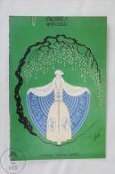 ERTE - Modes De Printemps In Femina D'Avril 1924 (Edimedia) - From Erte, 20 Beautiful Colour Postcards 1994 - Advertising