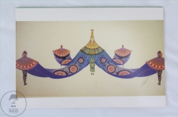 ERTE - Design Dor The Costume Of Neview Soie 1927 - From Erte, 20 Beautiful Colour Postcards 1994 - Advertising