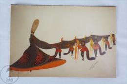 ERTE - Design For Costume For La Guadalquiver 1923 - From Erte, 20 Beautiful Colour Postcards 1994 - Advertising