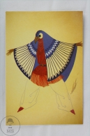ERTE - Design For A Costume In The Sequence Aztec Offering 1937 - From Erte, 20 Beautiful Colour Postcards 1994 - Advertising