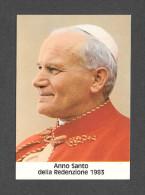 RELIGIONS - PAPES - LE PAPE JEAN PAUL II - POPE GIOVANNI PAOLO II - ANNO SANTO DLLA REDENZIONE 1983 - FOTOCOLOR KODAK - Papes