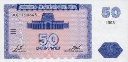Armenia 50 Dram 1993  Pick 35 UNC - Armenia