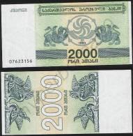 Georgia P 44 - 2000 2.000 Laris 1993 - UNC - Georgia