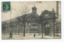 CPA LILLE, ECOLE NATIONALE D'ARTS ET METIERS, ENTREE DES ATELIERS, NORD 59 - Lille