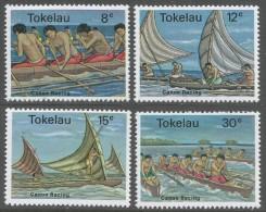 Tokelau Islands. 1978 Canoe Racing. MNH Complete Set. SG 65-68