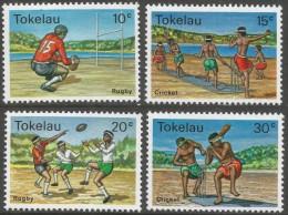 Tokelau Islands. 1979 Local Sports. MNH Complete Set. SG 69-72