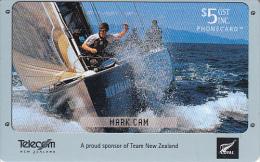 NEW ZEALAND(chip) - Sailing Team New Zealand/Mark Cam, 12/02, Used - Neuseeland