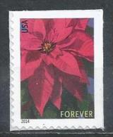 USA. Scott # 4816b, MNH. Poinsettia Christmas Plant Reprinted. 2014 - Estados Unidos