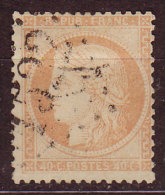 FRANCE - 1870 - YT  N° 38 A  -oblitéré - Jaune Orange -GC 1522 - 1870 Siege Of Paris