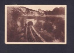 Wonck - Entree Du Tunnel ( Ligne De Chemin De Fer Ed. H. Kaquet) - Bassenge