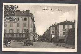 Saone Et Loire : Macon, Rue Gambetta - Macon